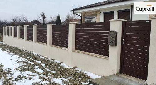 Gard aluminiu